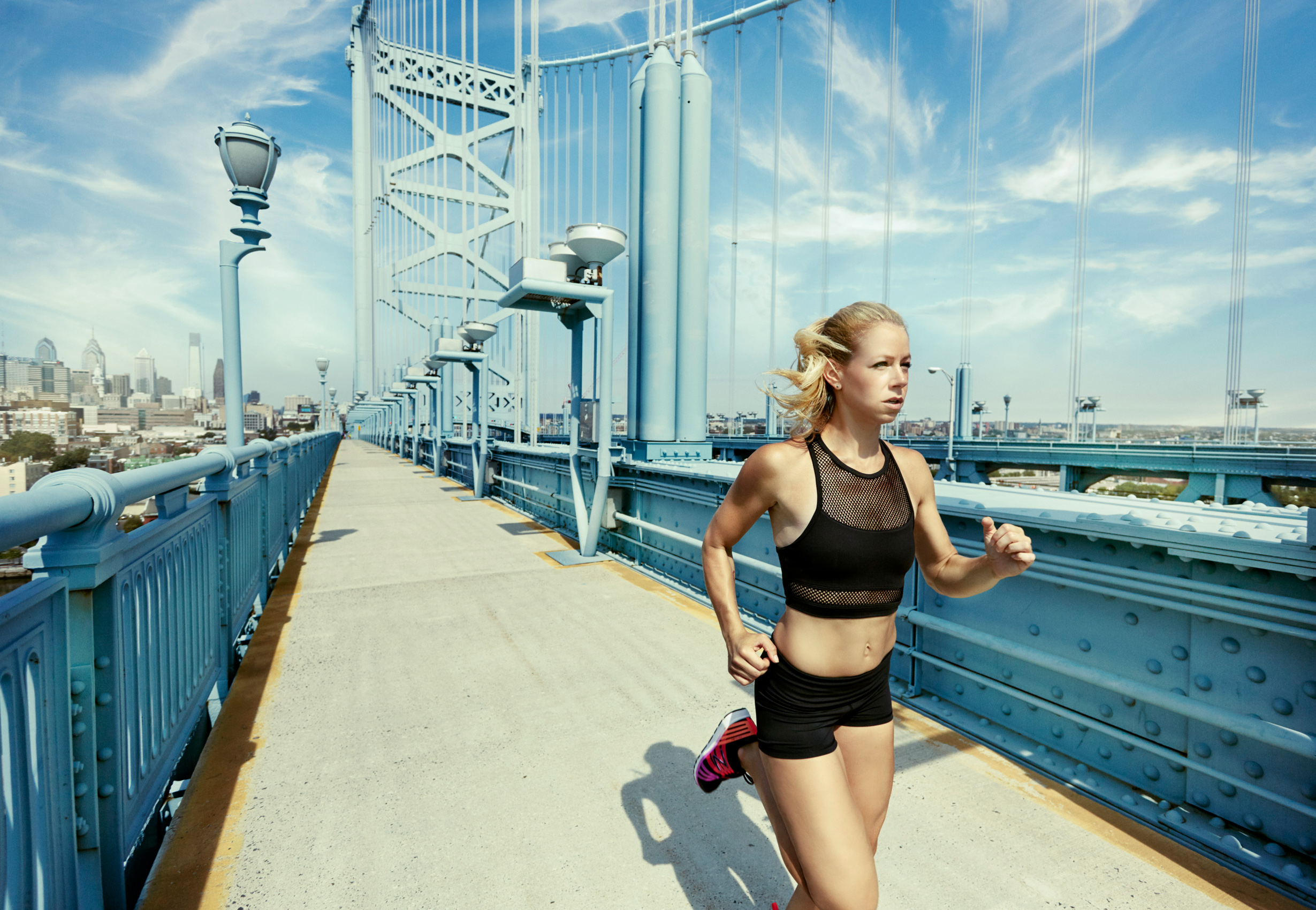 Ben Franklin Bridge - Runner