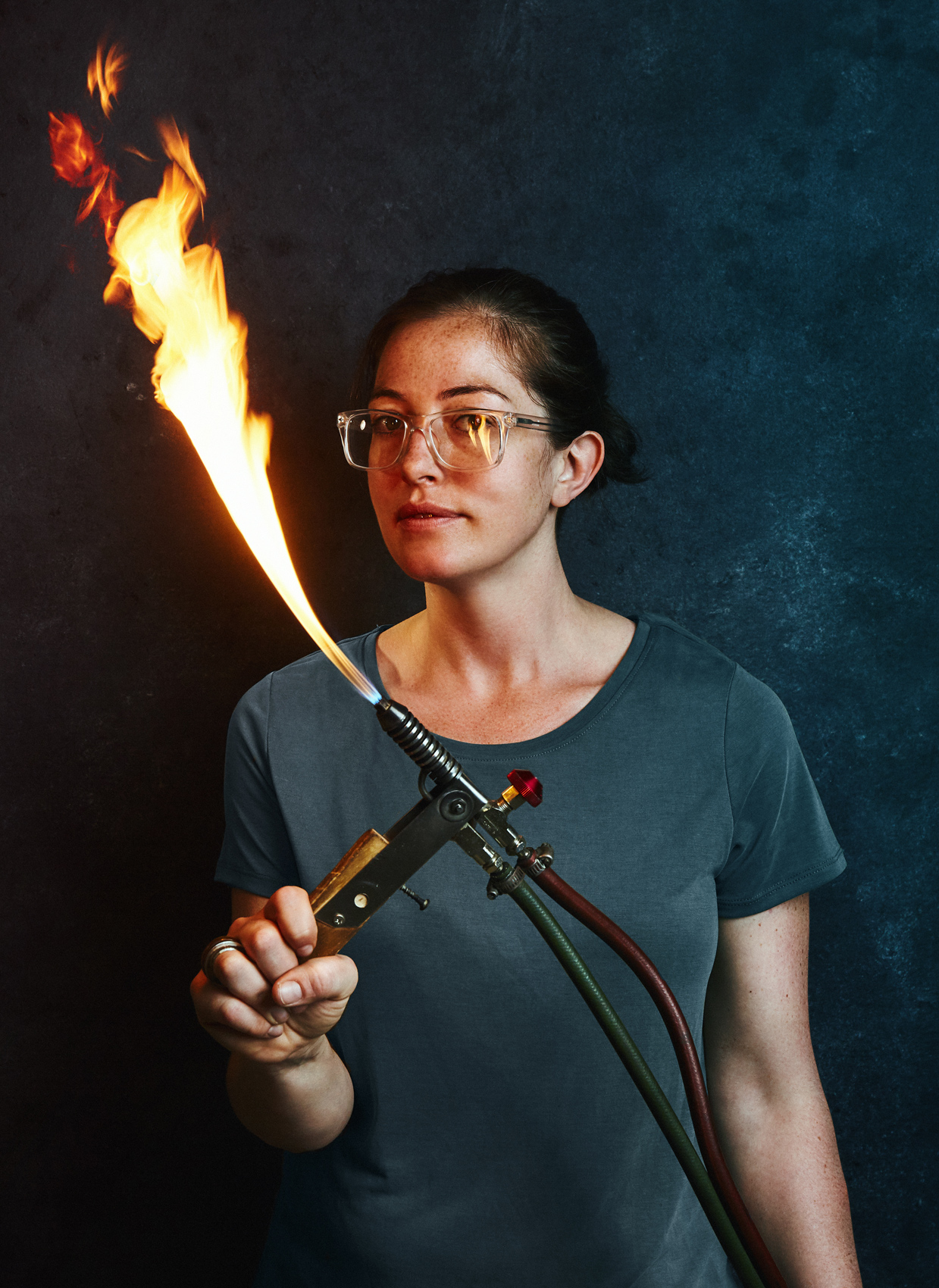 Philadelphia Glass Blower - Maker - Remark Glass