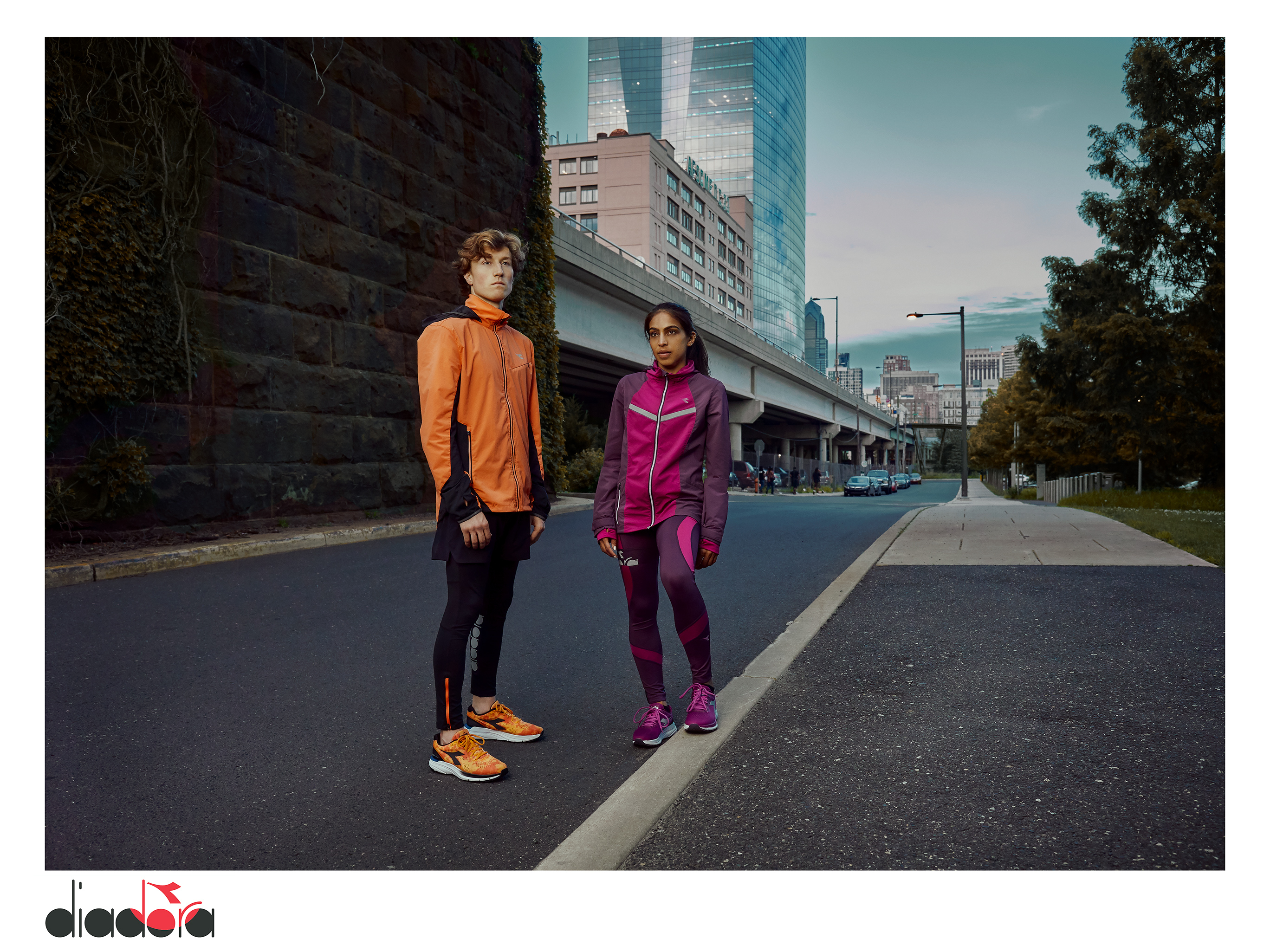 Diadora Fall Winter 2020 Ad Campaign Models