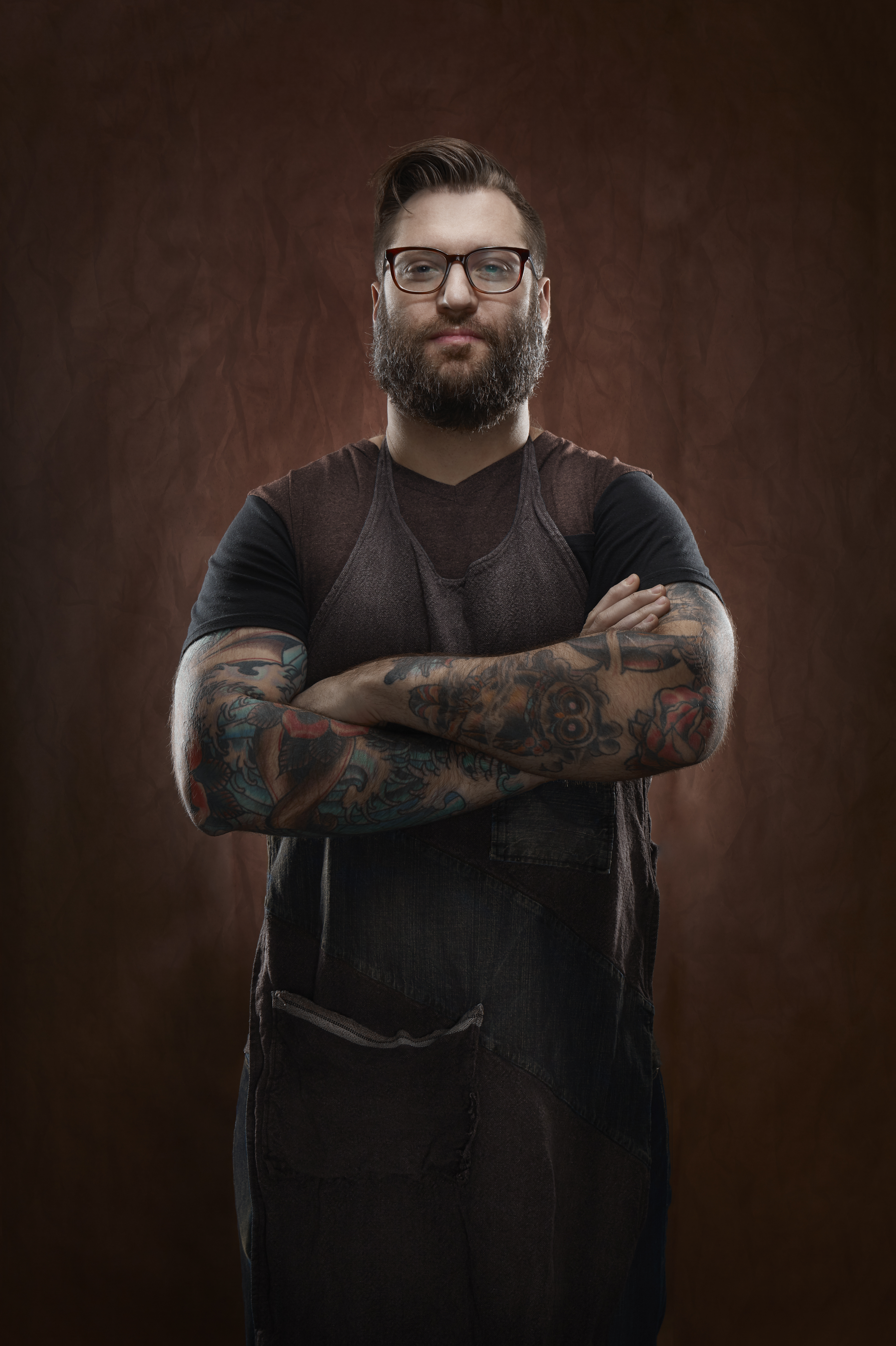 Philadelphia BBQ Chef Portrait