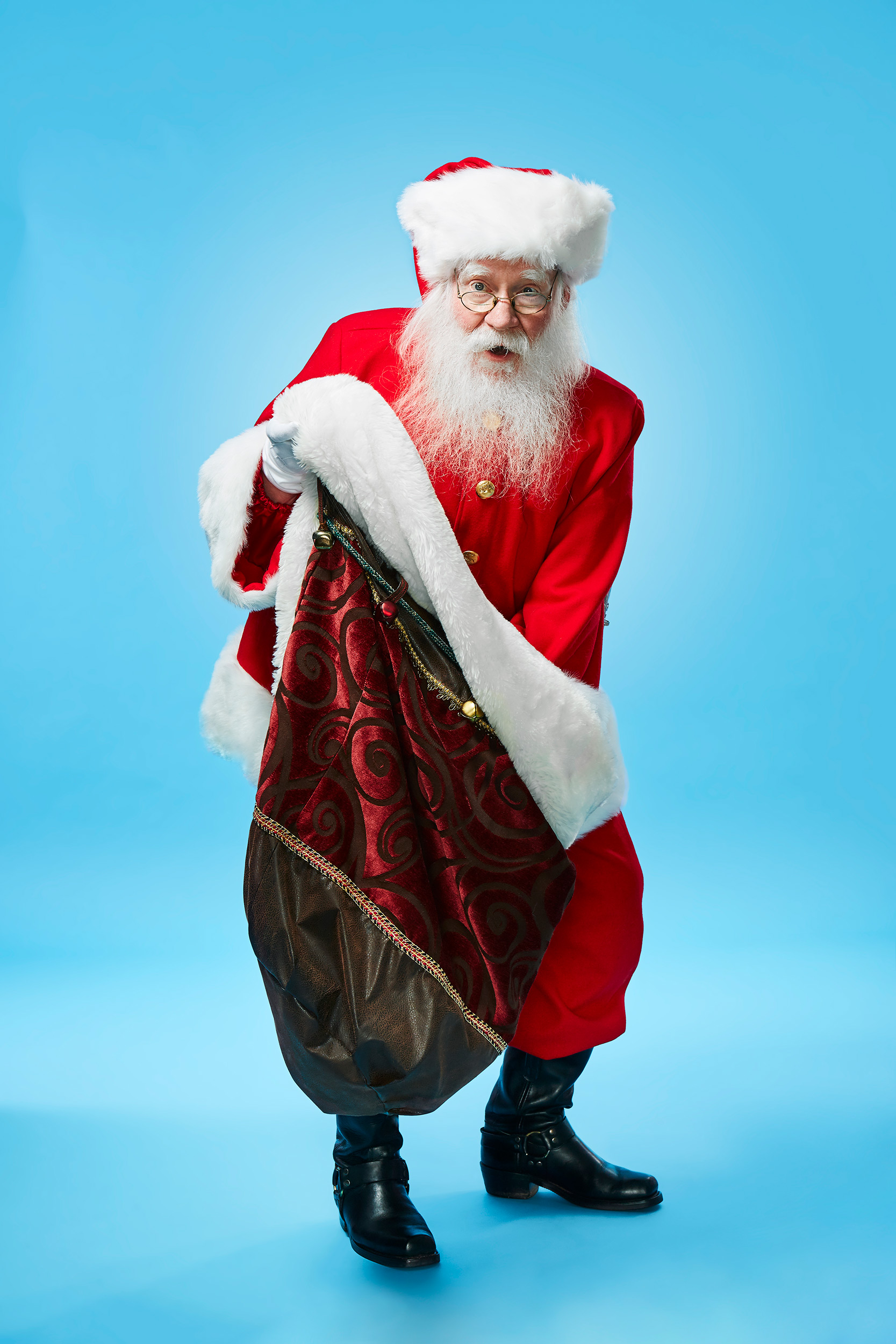 Philly Mag - Santa Paul - Christmas